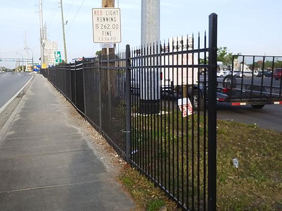 Southgate Shopping Center Fence Repair Csg